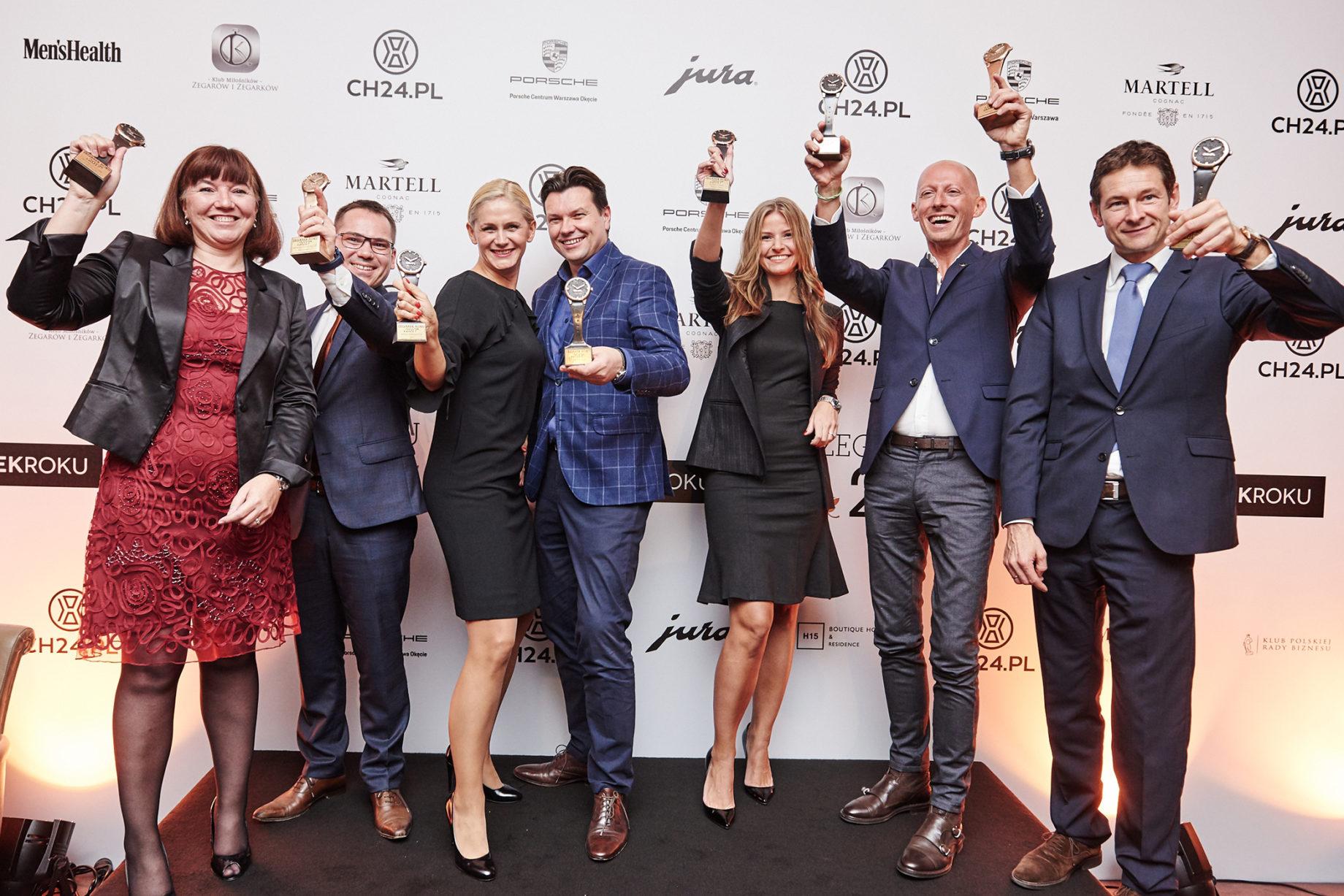 Zegarek Roku 2017 - laureaci