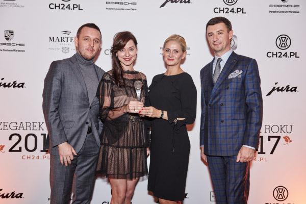 Łukasz Doskocz, Agnieszka Ławniczak (Tissot), Joanna Byrt (Tissot), Tomasz Kiełtyka