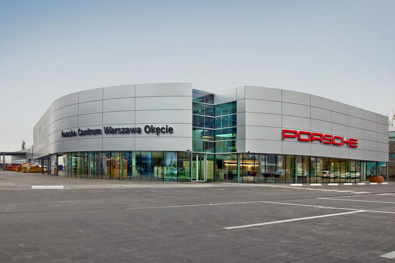 Porsche Centrum Warszawa Okęcie