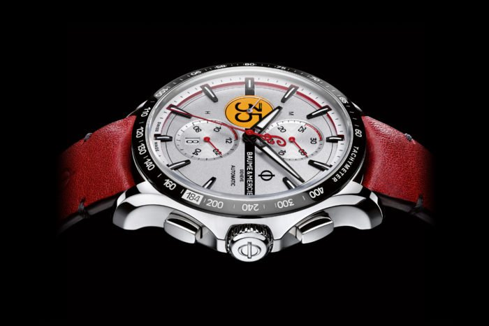 Baume & Mercier Clifton Club Burt Munro Limited Edition