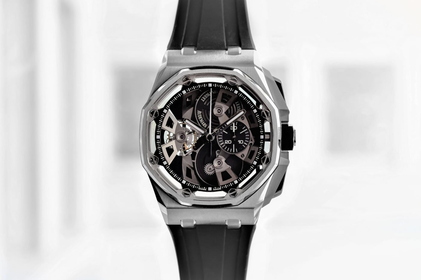 Audemars Piguet Royal Oak Offshore Tourbillon Chronograph – SIHH 2018 [zdjęcia live, cena]