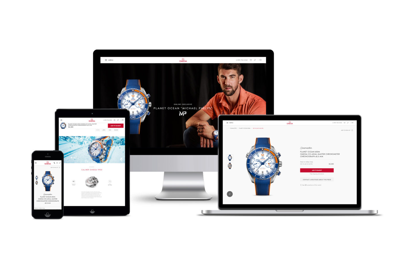 Omega rozpoczyna sprzedaż zegarków przez Internet