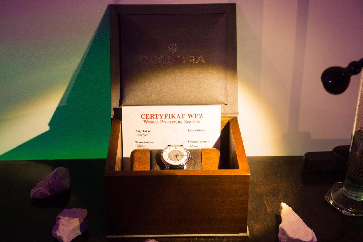 Certyfikat - Wysoce Precyzyjny Zegarek