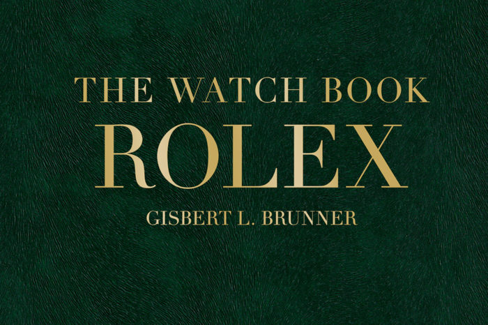 """The Watch Book: ROLEX"" - Gisbert L. Brunner"