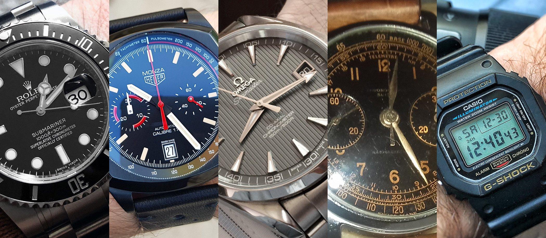 Co nosimy na co dzień? – czyli zegarki redakcji CH24.PL