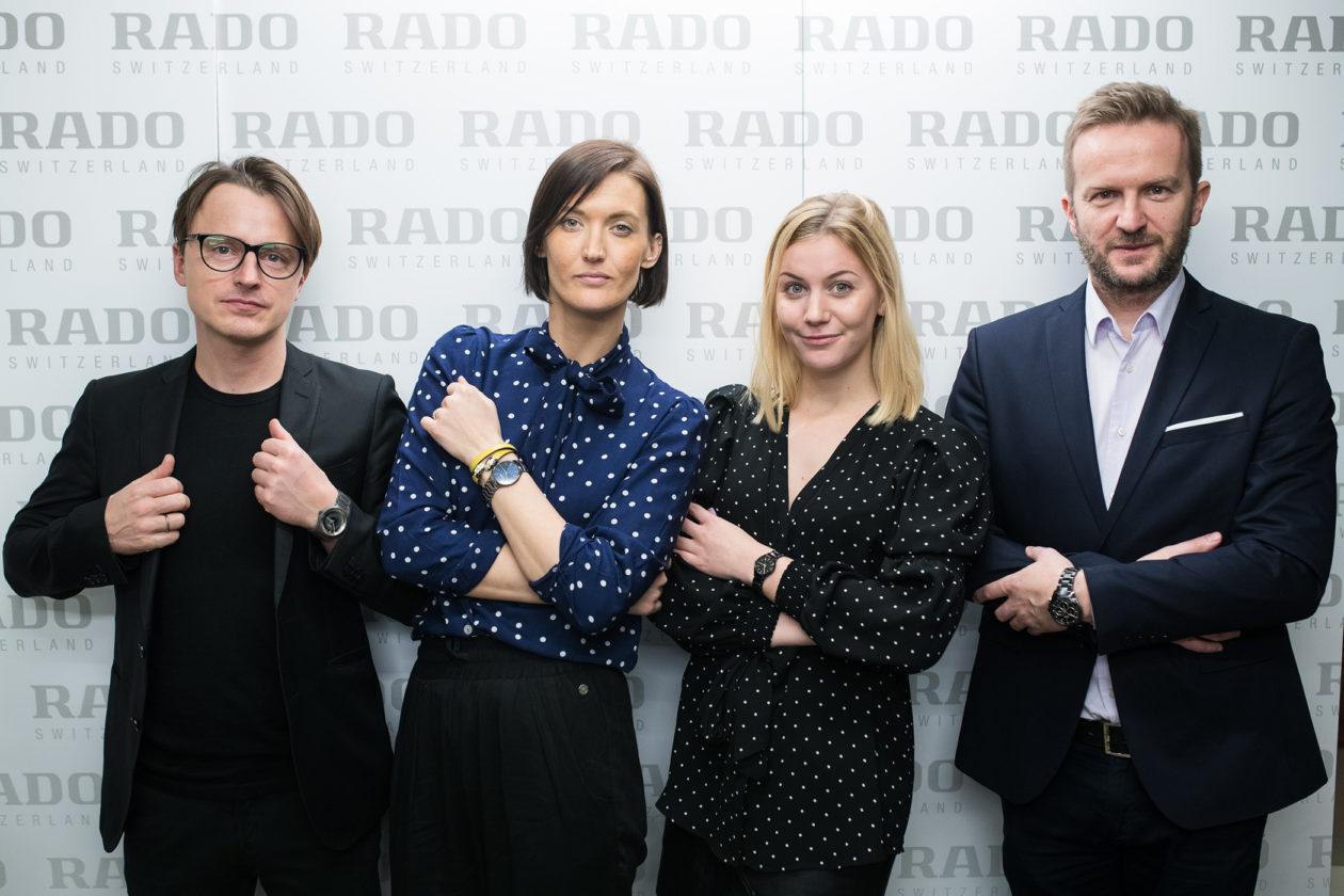 od lewej: Oskar Zięta, Helena Szczuka (Rado), Martyna Korkosz (Rado), Marek Lis (Rado)