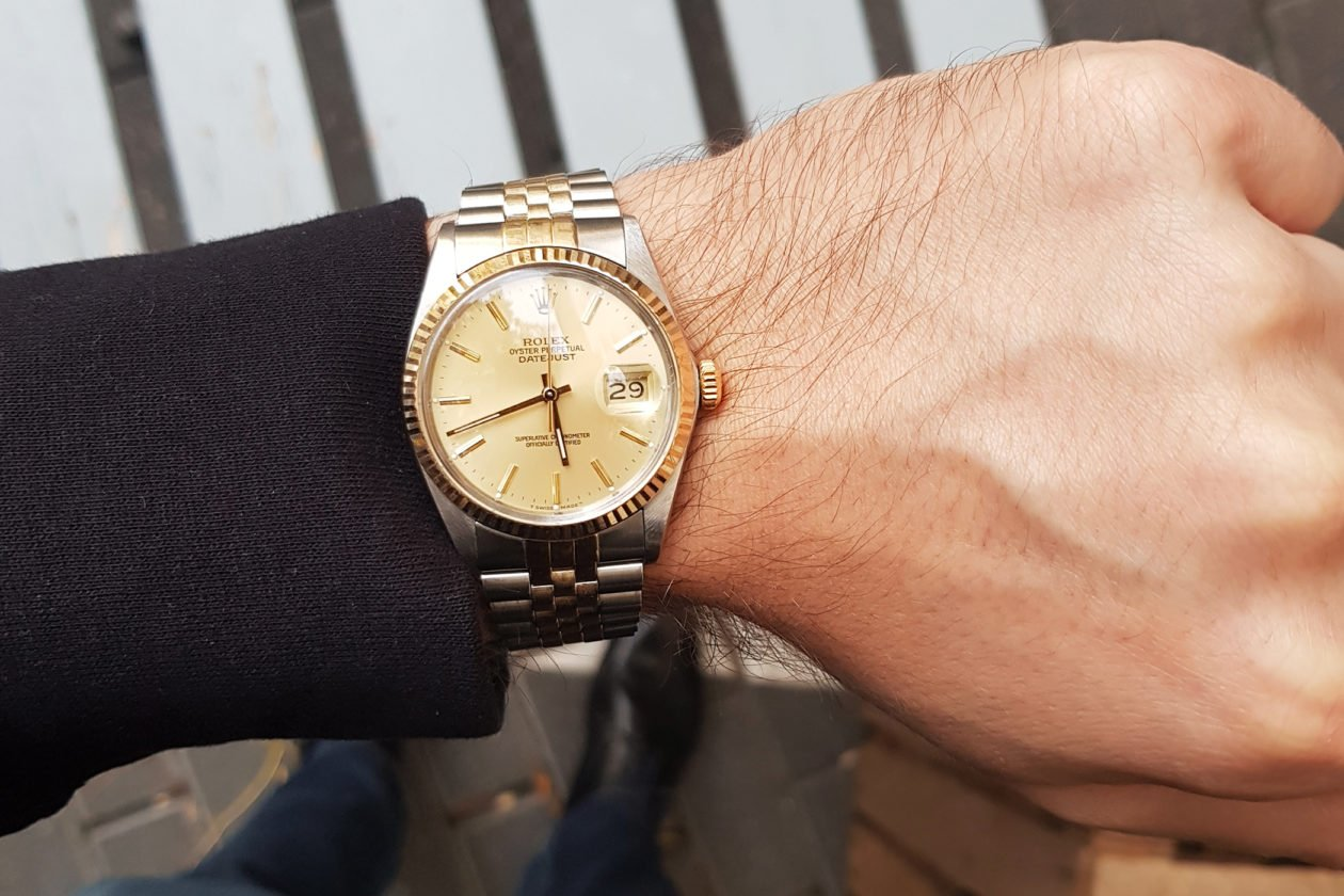 Rolex Datejust 36mm bi-color (1986)