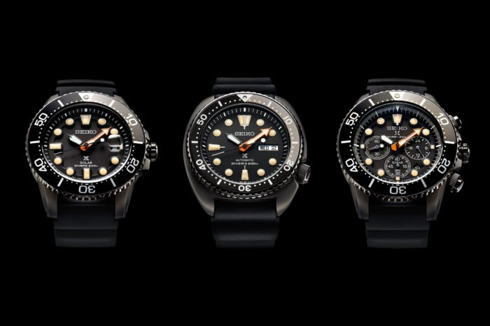 "Seiko Prospex ""The Black Series"" Limited Edition"