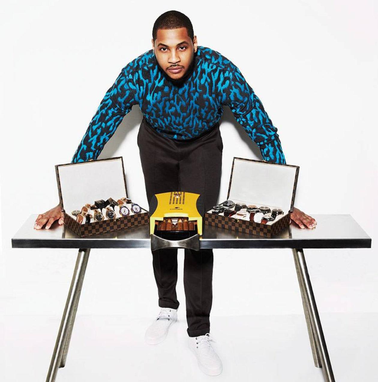 Carmelo Anthony / foto: hautetime.com