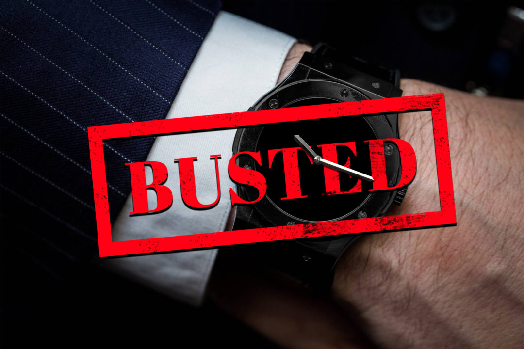 Timebloid: celebryci przyłapani z podróbkami zegarków