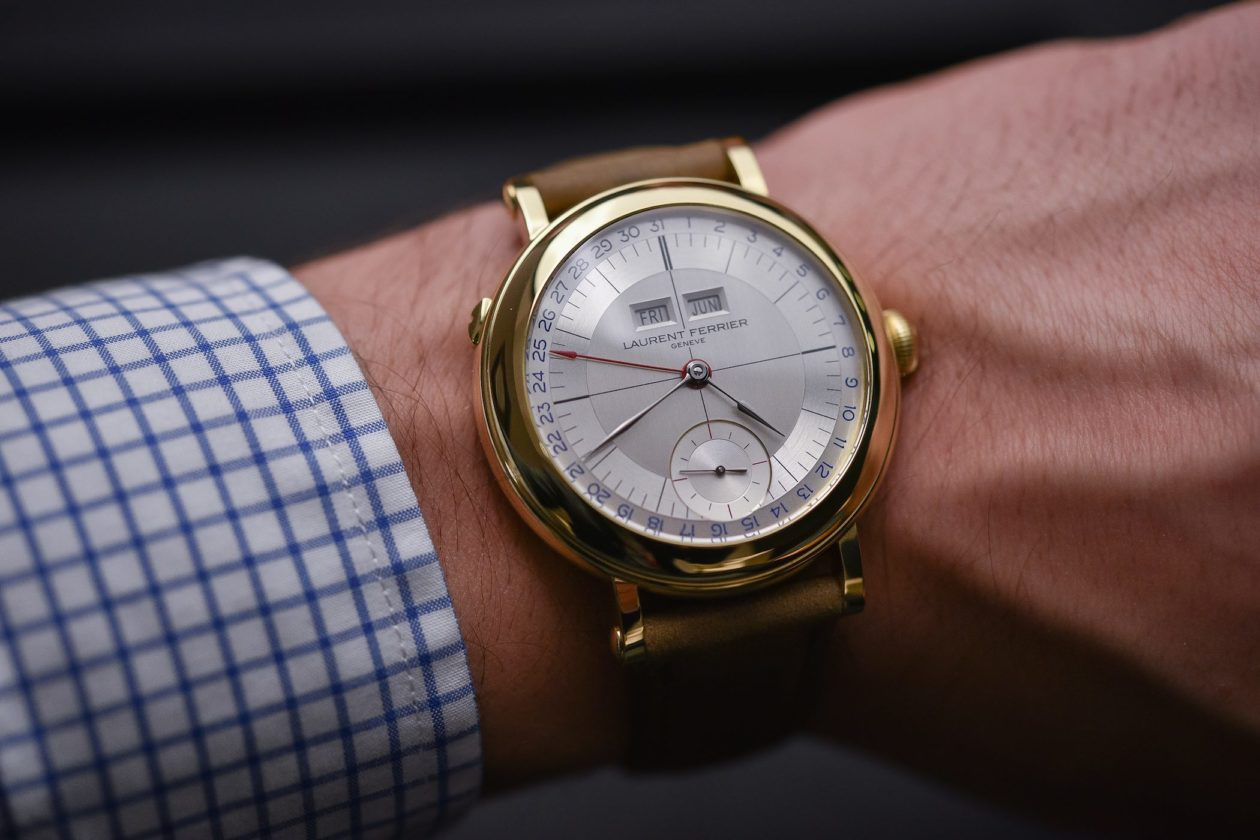 Laurent Ferrier Galet Annual Calendar