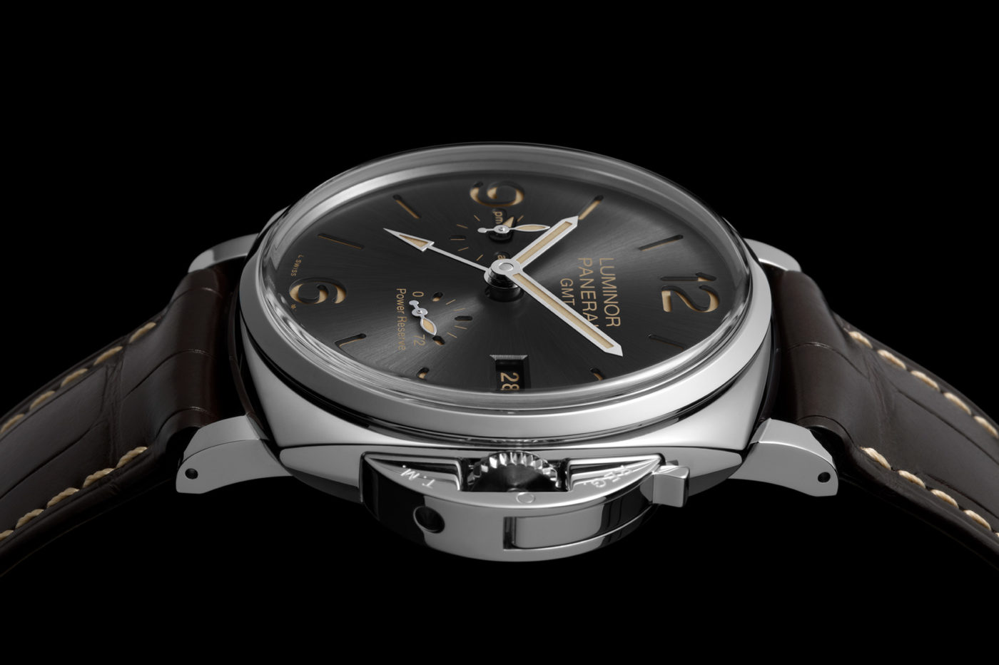 Panerai Luminor Due 3 Days Automatic i GMT Power Reserve Automatic 45 mm – SIHH 2018
