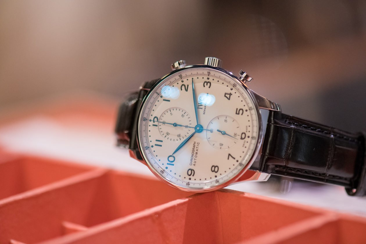 "IWC Schaffhausen Portugieser Chronograph Edition ""150 Years"""