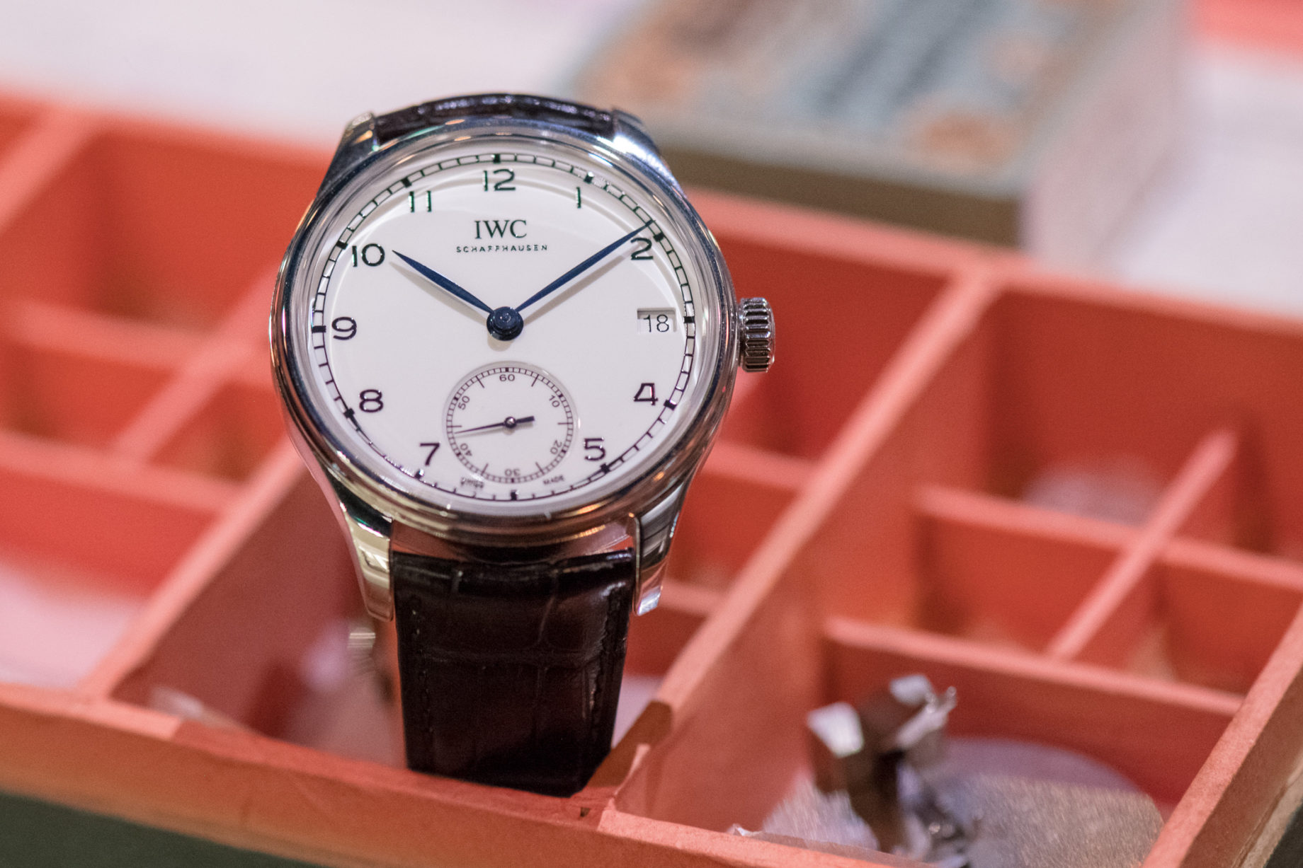 "IWC Schaffhausen Portugieser Hand-Wound Edition ""150 Years"""