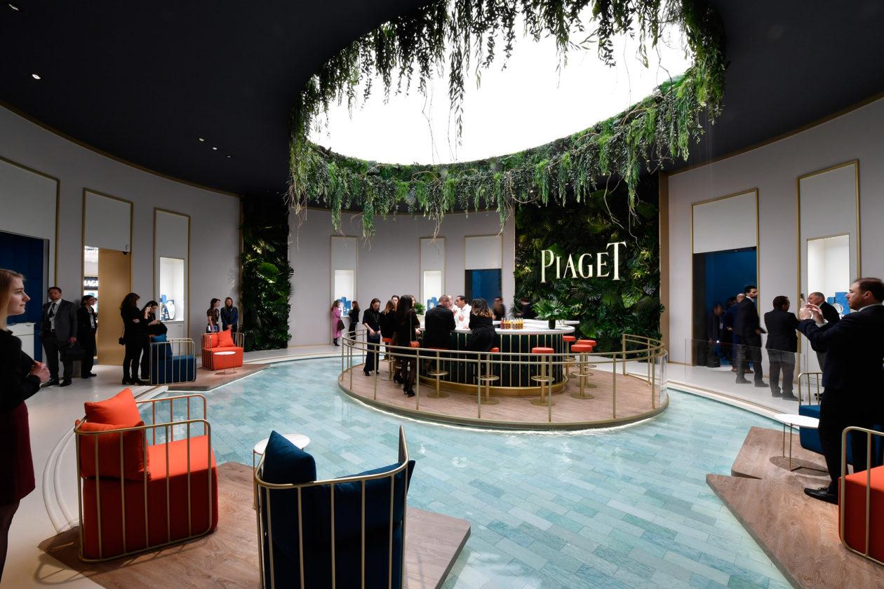 Stoisko Piaget - SIHH 2018