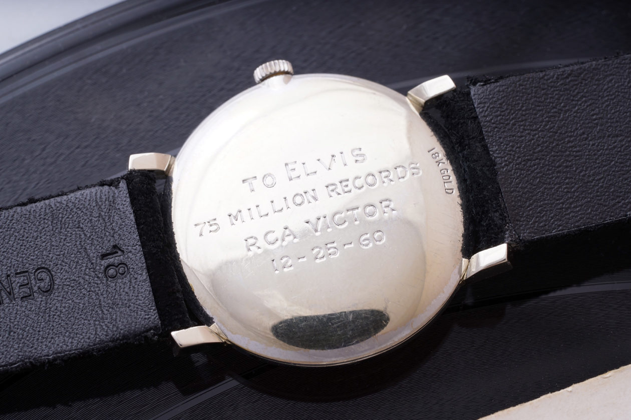 To Elvis 75 Million Records RCA Victor 12-25-60