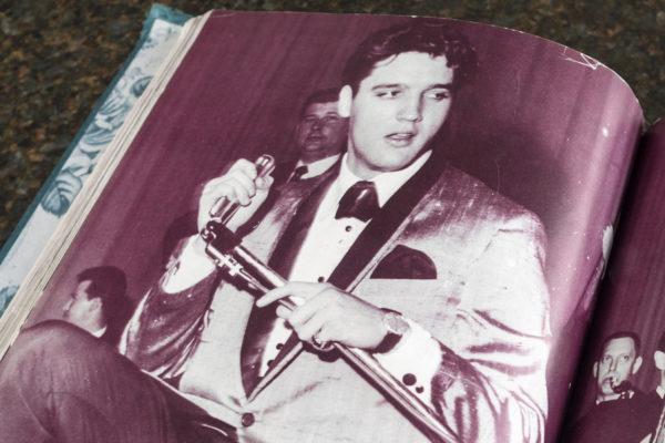 Omega na nadgarstku Elvisa Presley'a