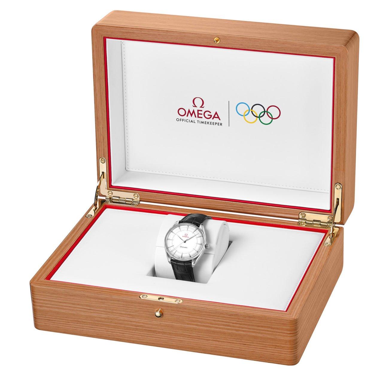 Omega Seamaster Olympic Games Gold w okolicznościowym pudełku