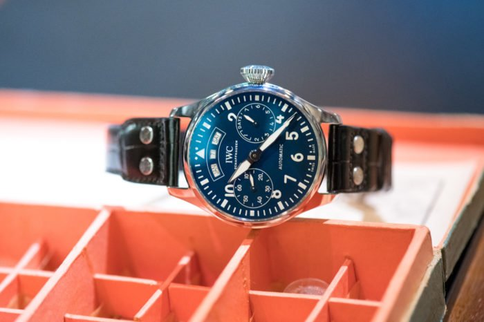 "IWC Pilot's Watch Big Pilot Annual Calendar ""150 Years"""
