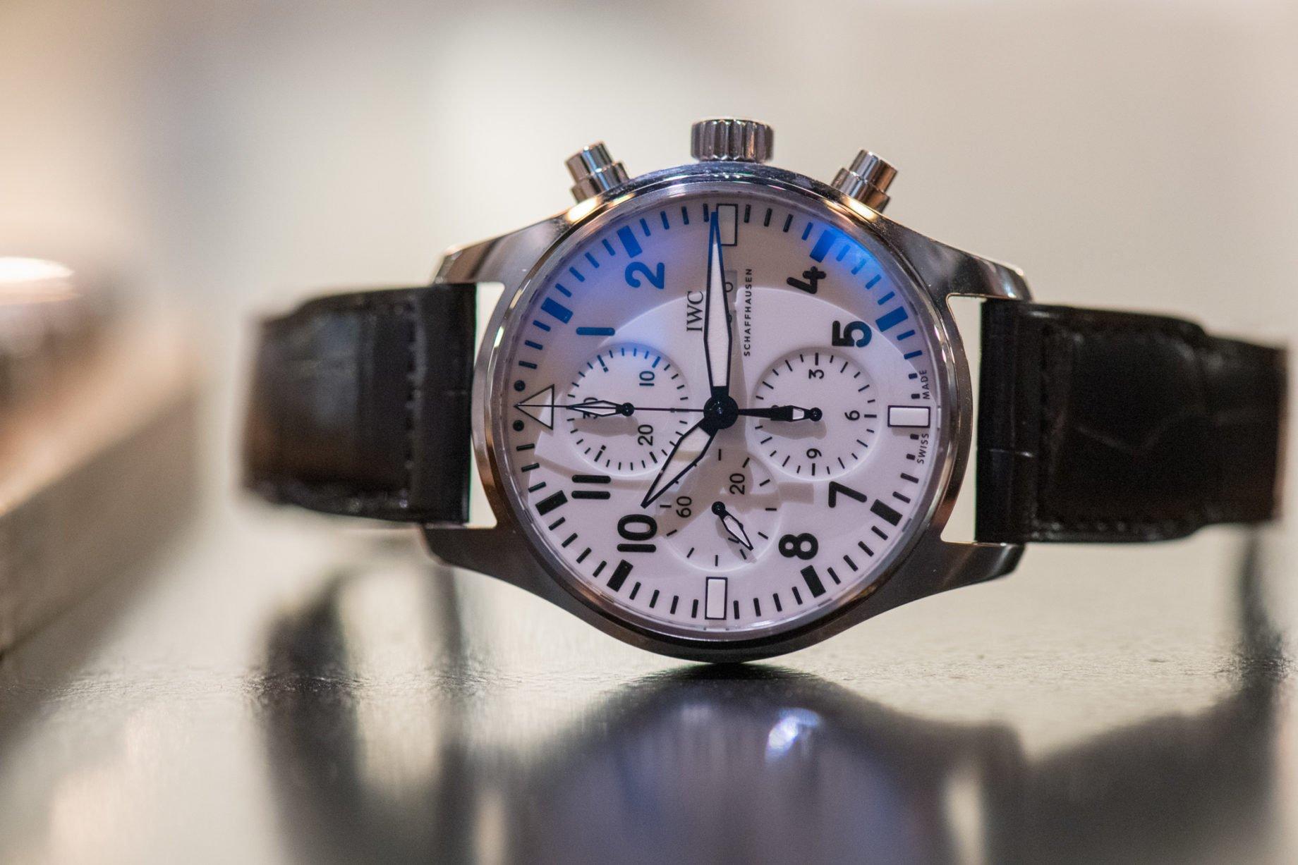 "IWC Pilot's Watch Big Pilot Chronograph ""150 Years"""