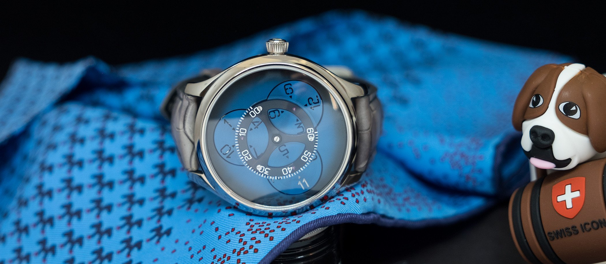 H. Moser & Cie. Endeavour Flying Hours