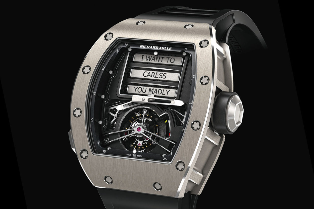 Richard Mille - Tourbillon Erotic