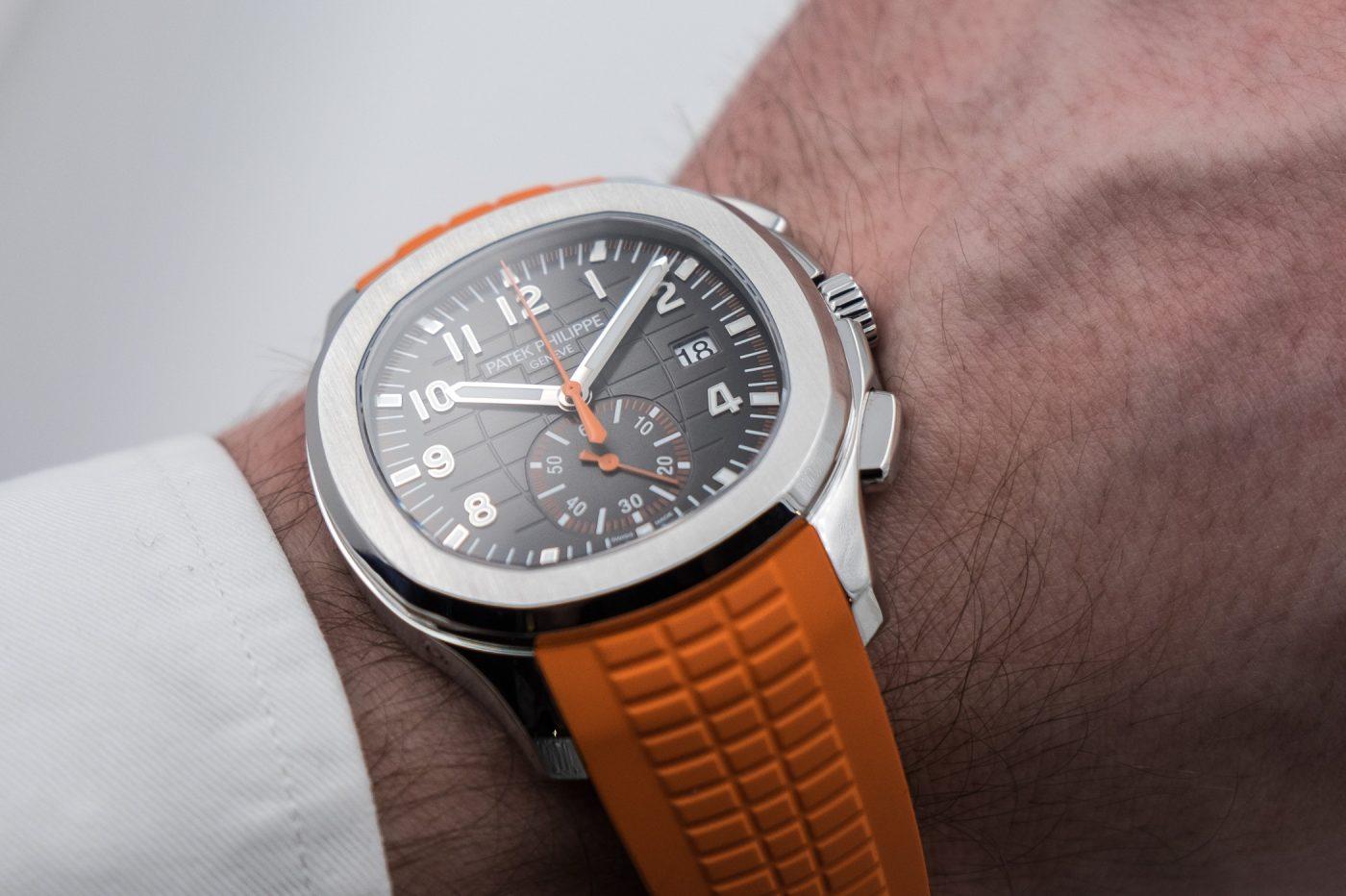 Patek Philippe Ref. 5968A-001 – pierwszy chronograf w kolekcji Aquanaut – Basel 2018 [zdjęcia live, cena]