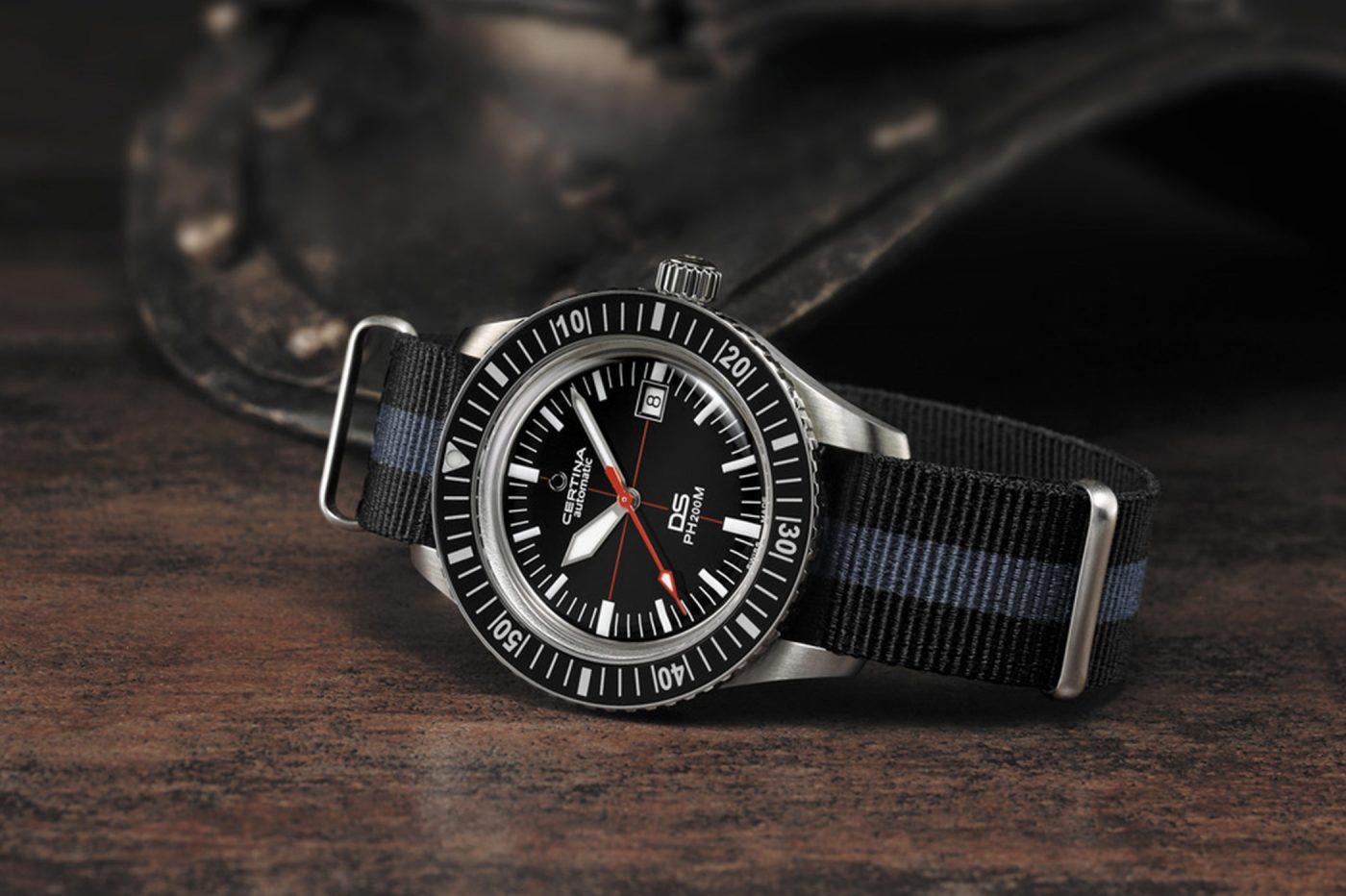 Certina DS PH200M – historyczny zegarek dla nurków w nowej odsłonie – Basel 2018 [zdjęcia live, cena]