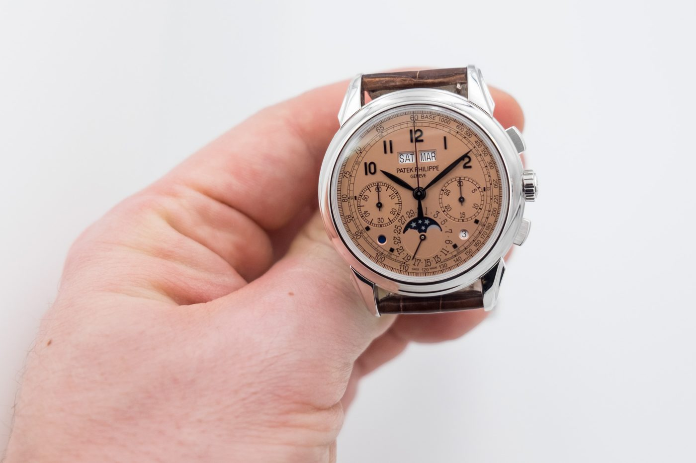 Patek Philippe Chronograph Perpetual Calendar Ref.5207P-001 –  teraz w platynie – Basel 2018 [zdjęcia live, cena]