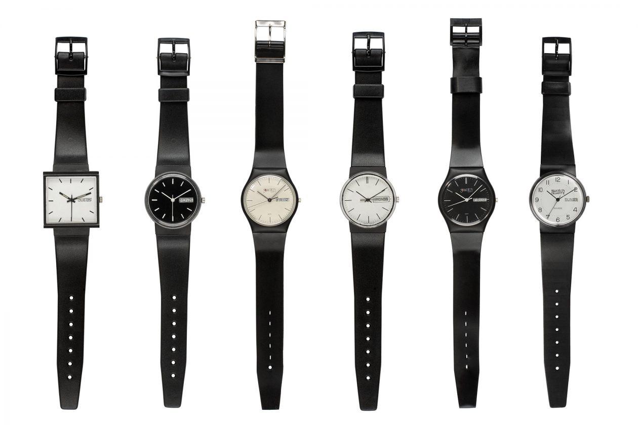 Swatch - prototypy z 1981 roku