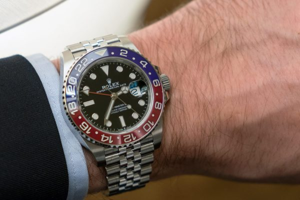 Rolex GMT-Master II w stali
