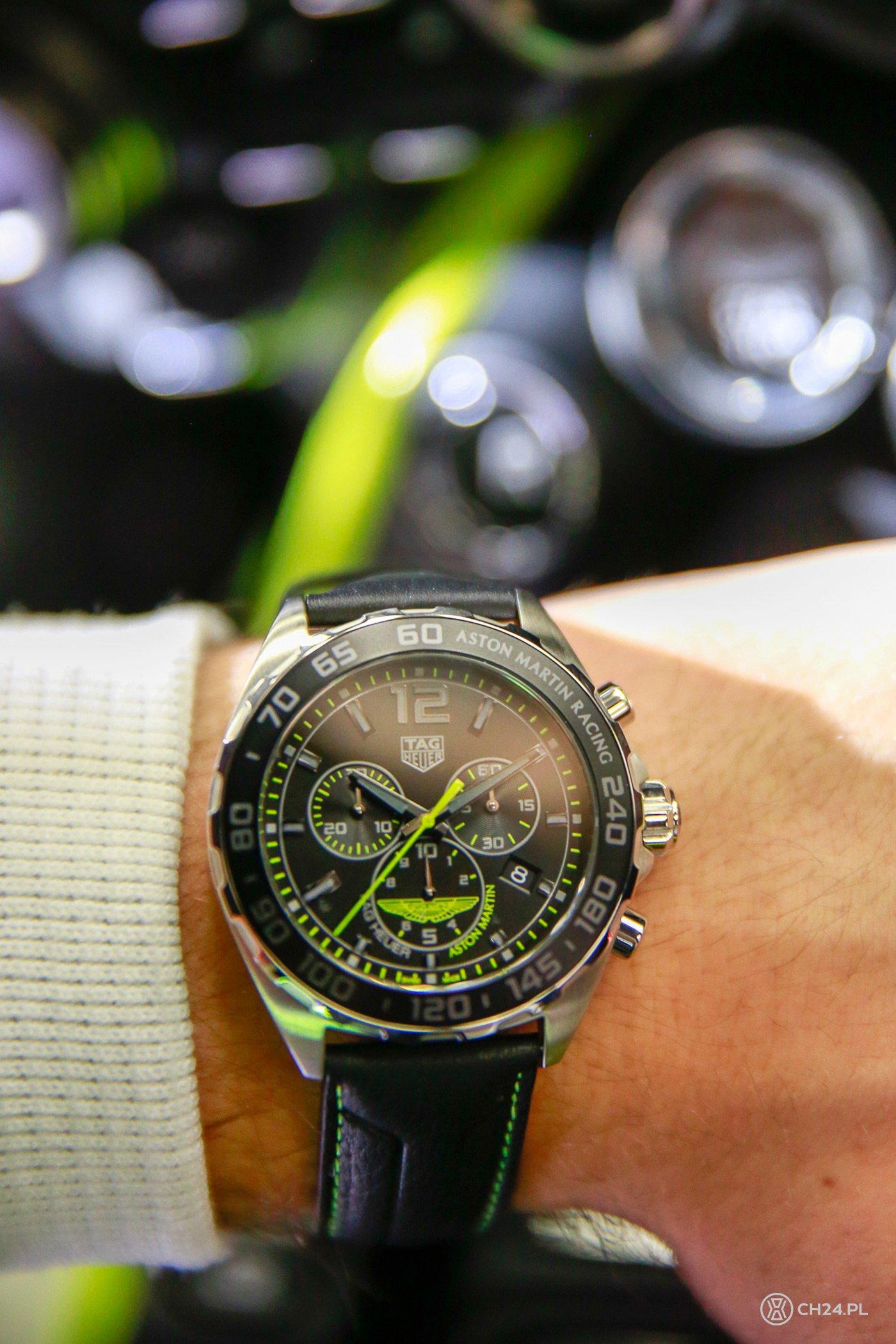 TAG Heuer oficjalnym partnerem Astona Martina CH24 PL