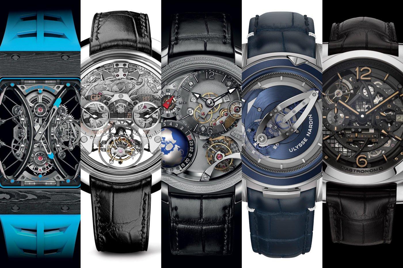 TOP 5 – zegarki z superkomplikacjami – SIHH 2018