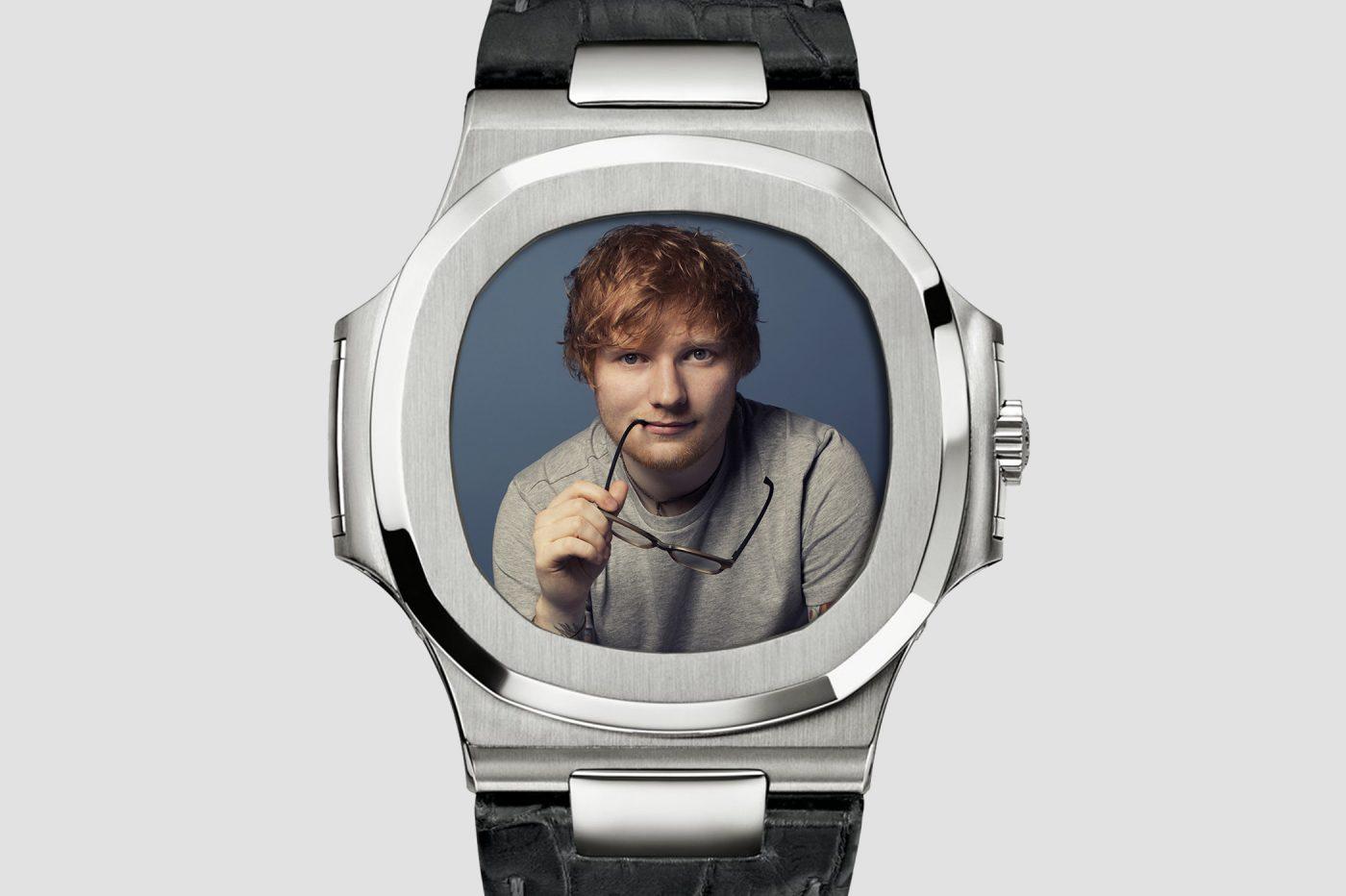 Timebloid Zegarki w showbiznesie: Ed Sheeran