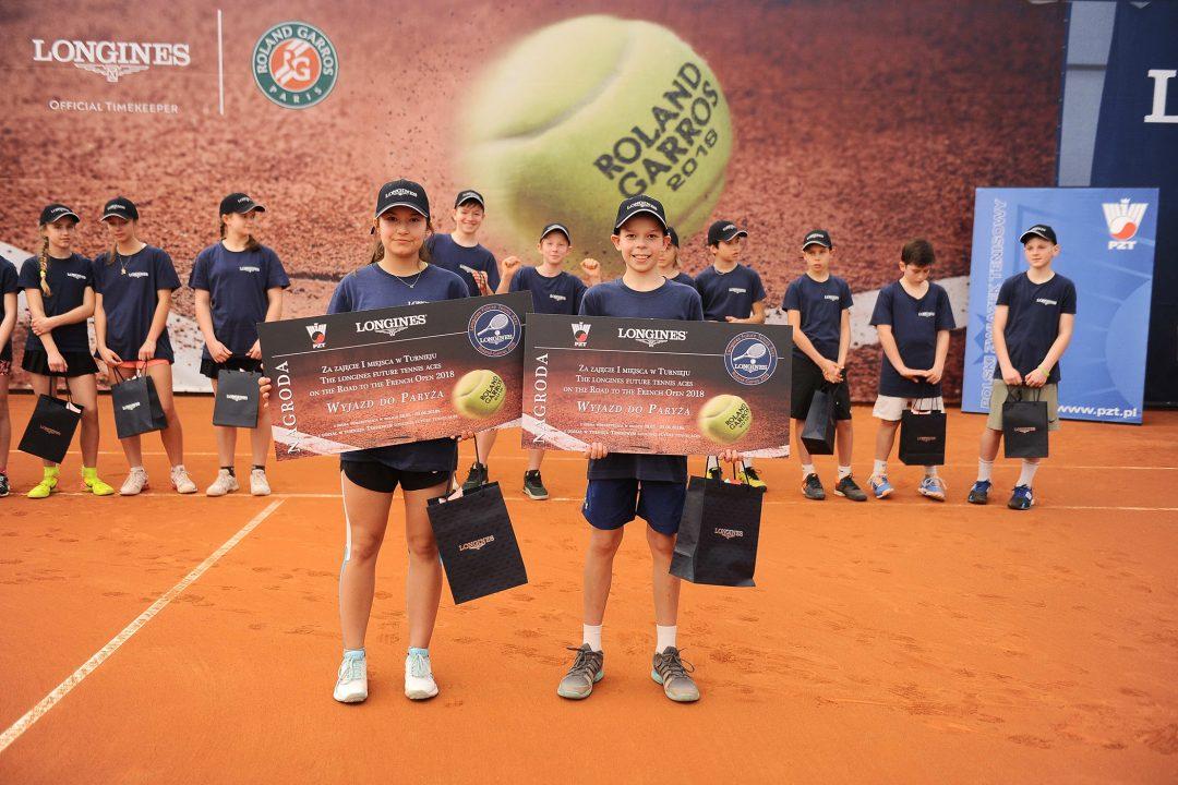 Zwycięzcy eliminacji Longines Future Tennis Aces 2018