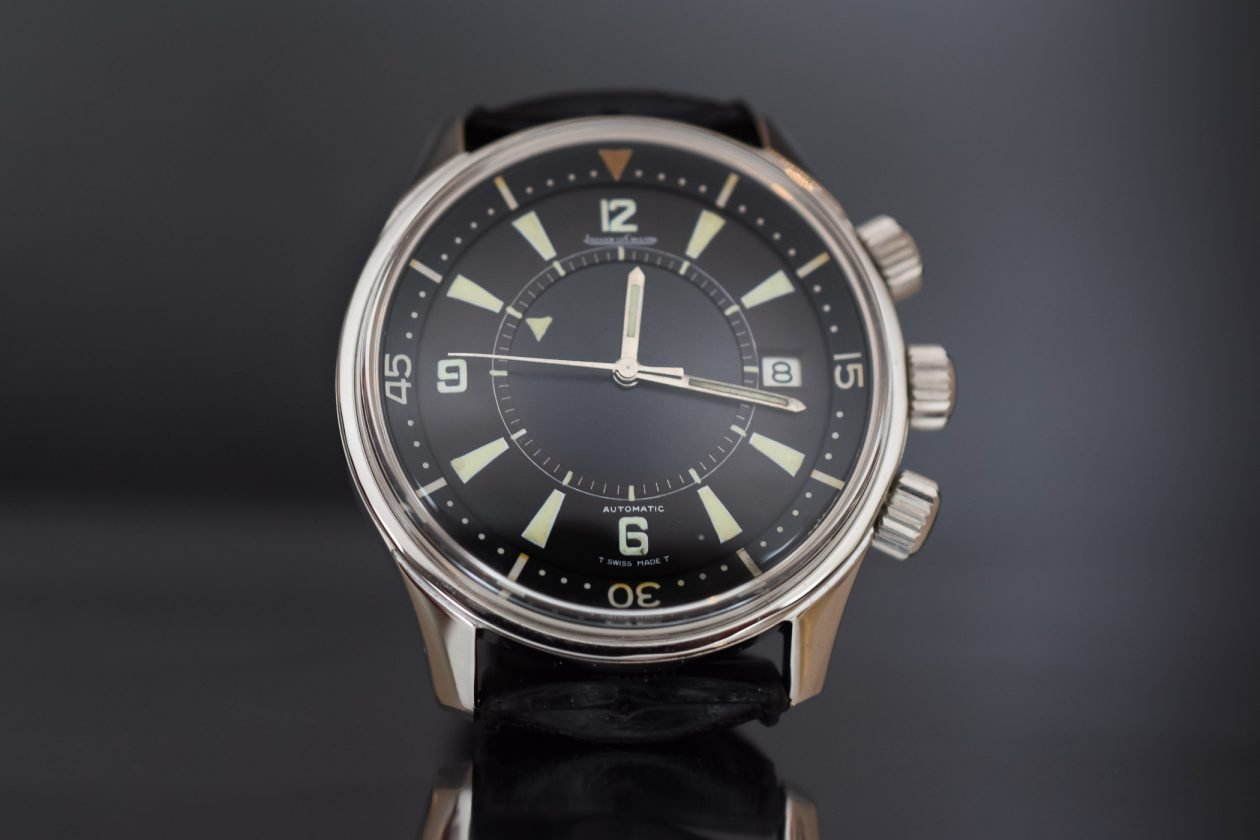 Jaeger-LeCoultre Memovox Polaris 1968 / foto: Monochrome-watches.com