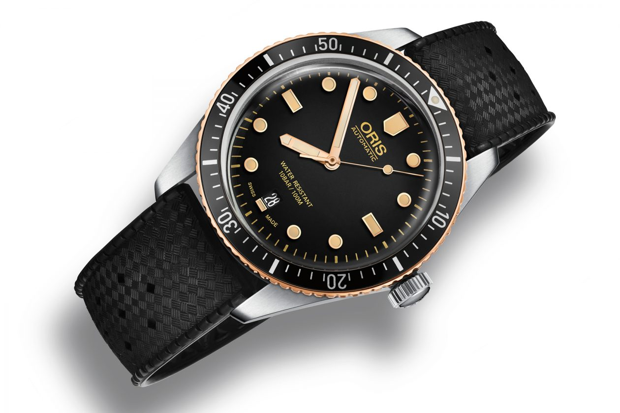 Oris Diver Sixty Five Bronze Bezel