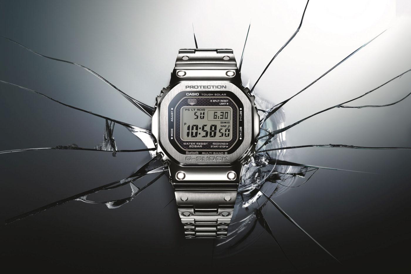 """Casio G-Shock GMW B-5000 – jubileuszowe wersje ikony w stali i """"złocie"""" [cena]"""