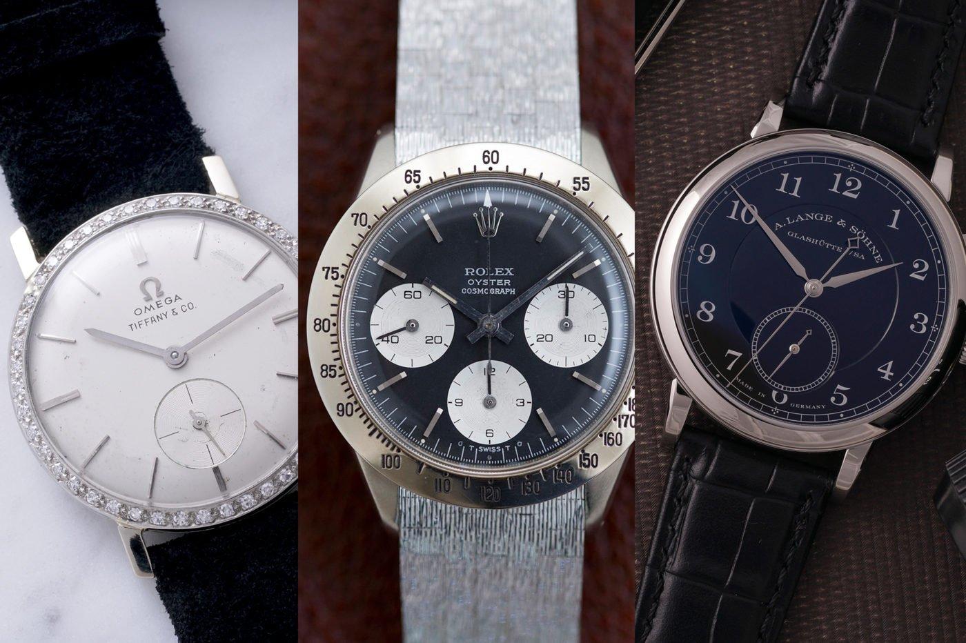 Aukcje Rekordowe wyniki zegarków Omega, Rolex i Lange na aukcji domu Phillips