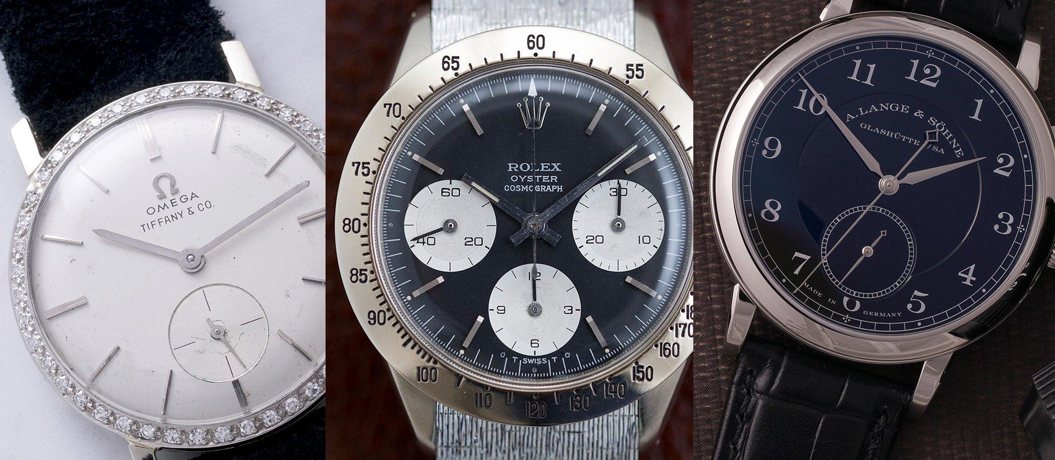 Rekordowa Omega, Rolex i Lange na aukcji domu Phillips