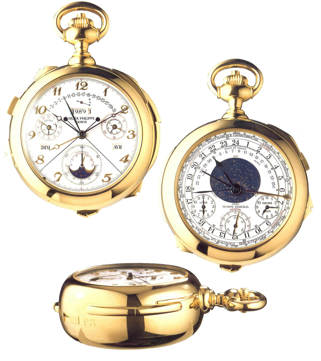 Patek Philippe Calibre 89 / foto: Antiquorum