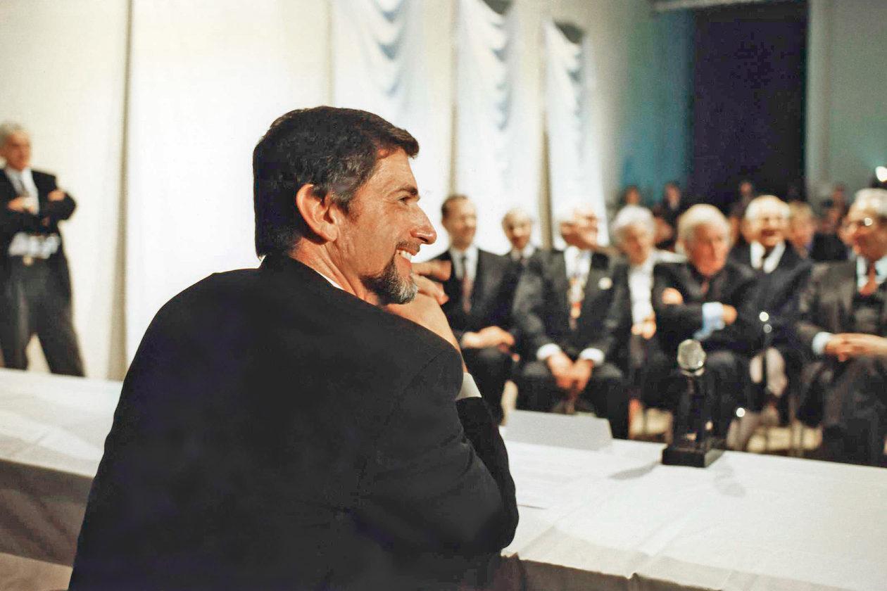 Günter Blümlein na prezentacji zegarków A. Lange & Sohne
