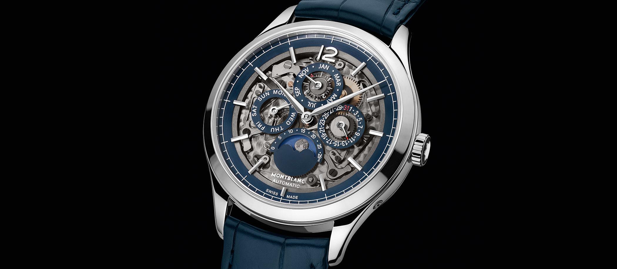 Montblanc Heritage Chronométrie Perpetual Calendar Sapphire