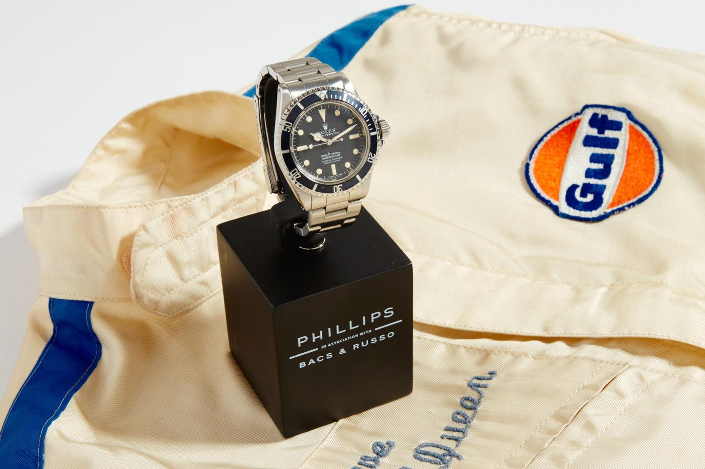 Aukcje Rolex Submariner Steve'a McQueena trafi pod młotek