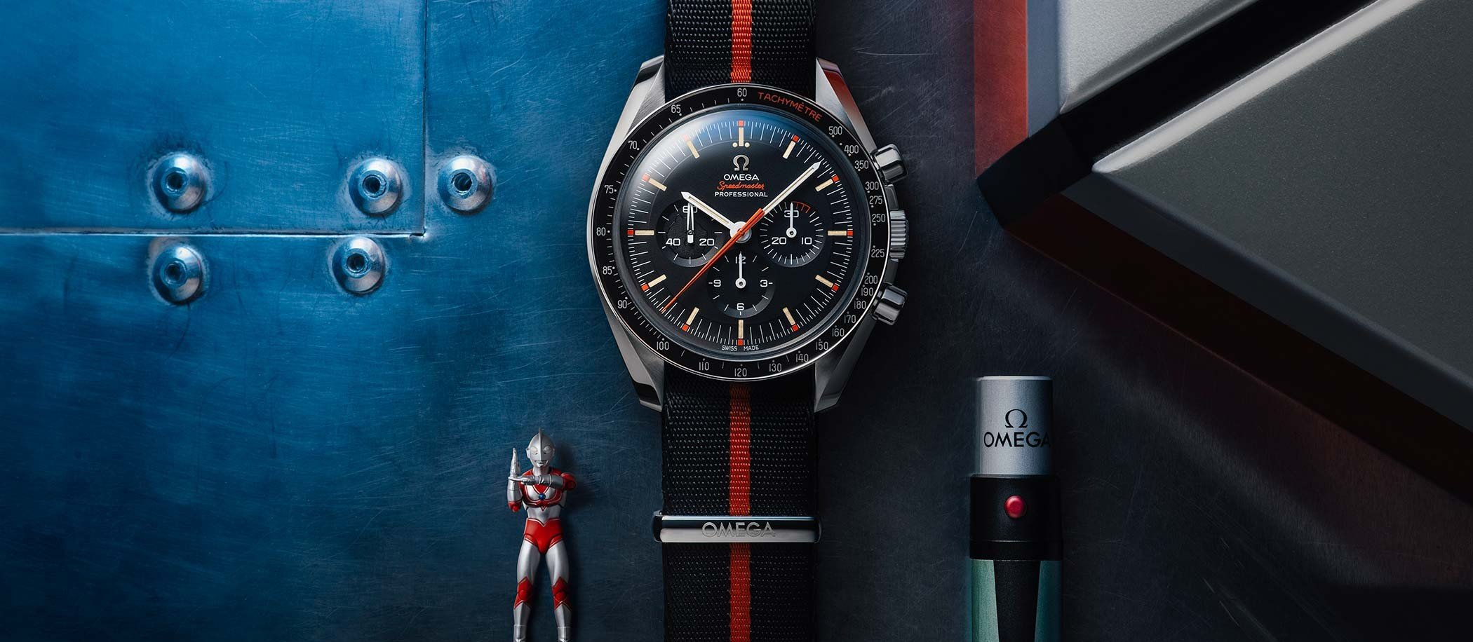 "Omega Speedmaster #SpeedyTuesday Limited Edition ""Ultraman"""
