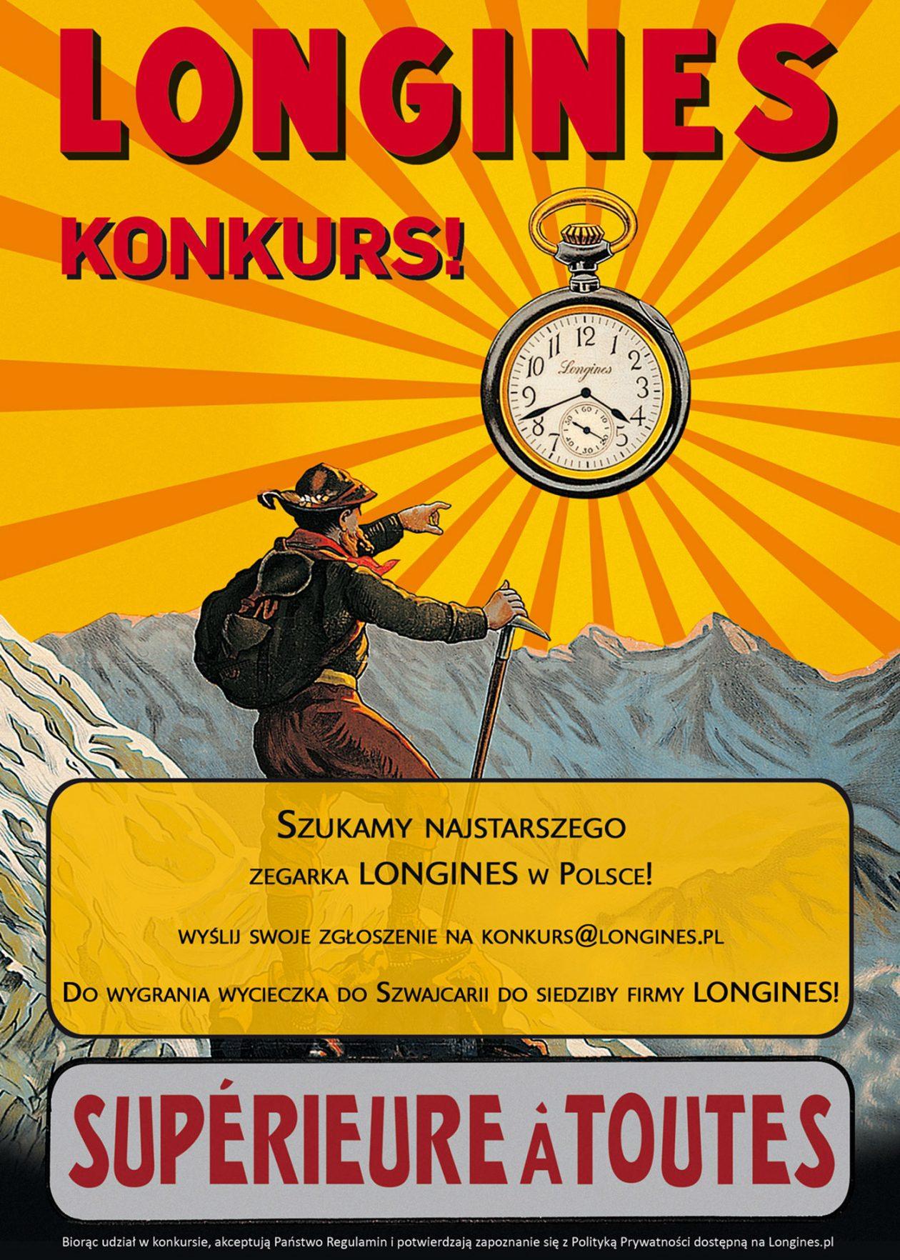 Longines poszukuje najstarszego zegarka w Polsce