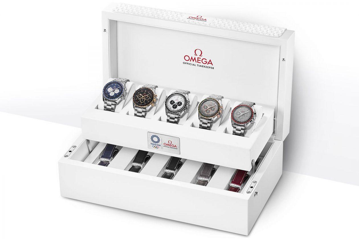 Omega Speedmaster Tokyo 2020 - zestaw 5 zegarków