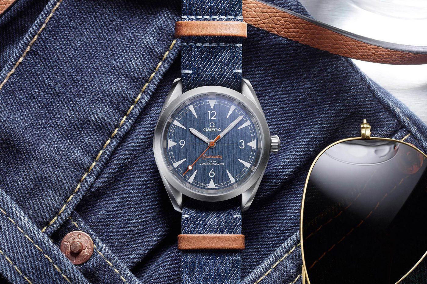 Omega Railmaster Master Chronometer Denim Blue [cena]