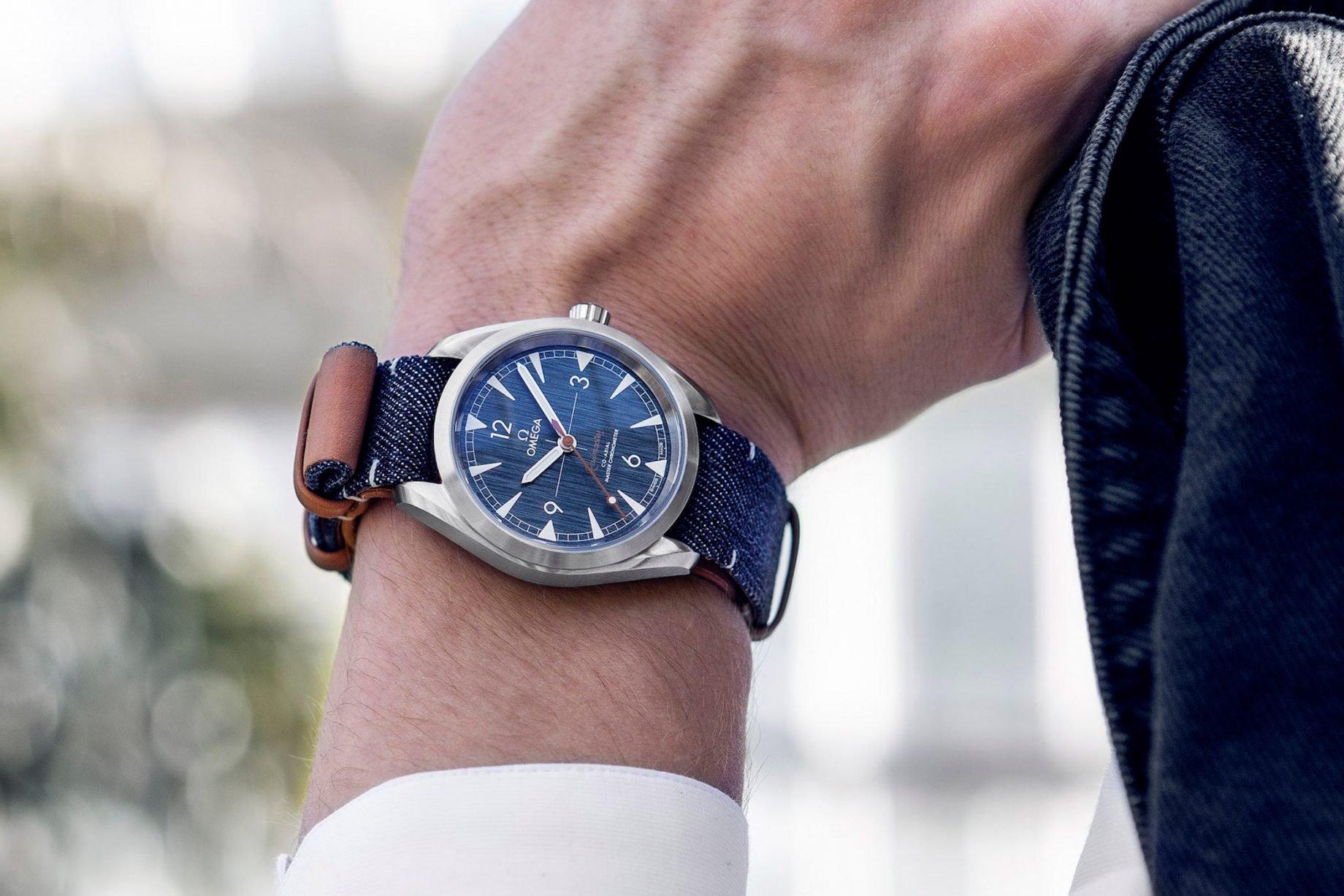 Omega Railmaster Master Chronometer Denim Blue