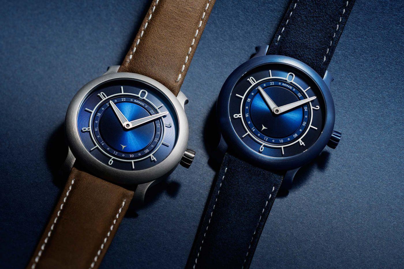 MING 17.03 Blue i Ultra Blue – pierwsze urodziny marki [dostępność, cena]